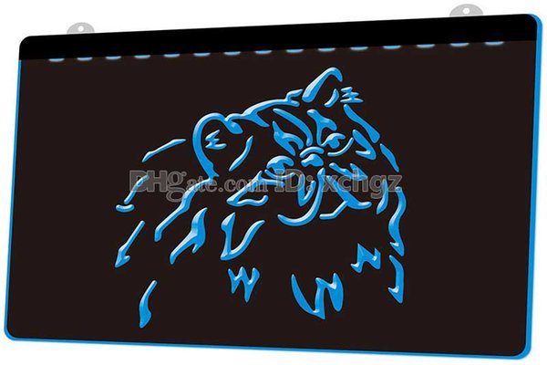 [F1758] Persian Cat Kitty Pet Shop Breed NEW 3D Engraving LED Light Sign Customize on Demand 8 colors