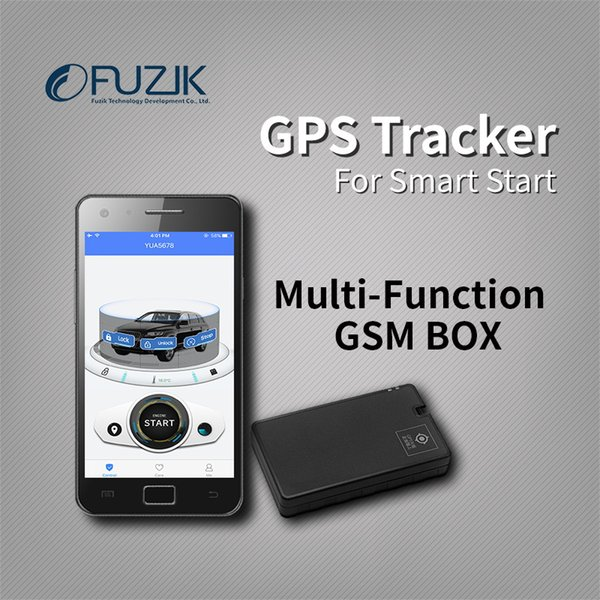 Fuzik ОТУ Mini GPS Tracker системы слежения за автотранспортными средствами для дистанционного смарт-старт с Mizway App управления для андроид смартфон