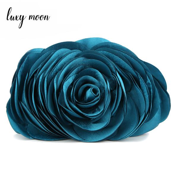 Hot 2018 Evening Bag Flower Bride Bag Purse , full dress Party handbag Wedding Clutch Women Evening Purse Lady Gift EB034 Y18102304