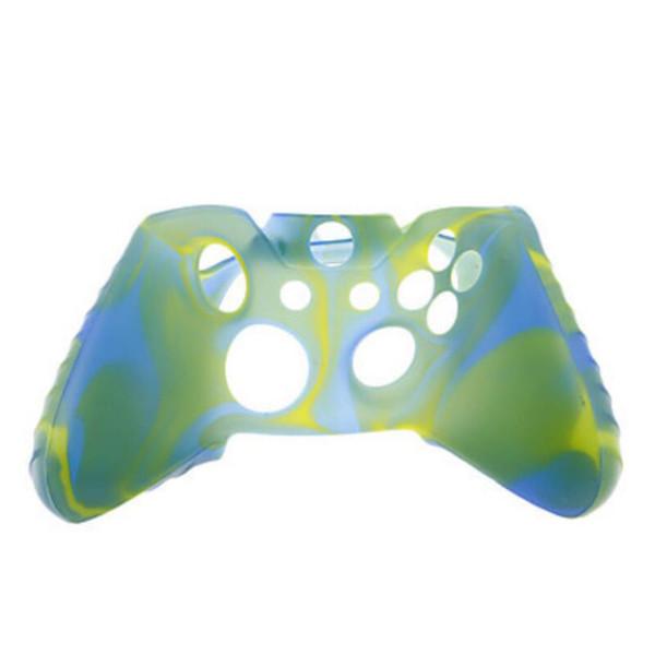 Для Xone Мягкий силиконовый гибкий камуфляж резиновые кожи чехол для Xbox один тонкий контроллер ручка крышка 100 шт.