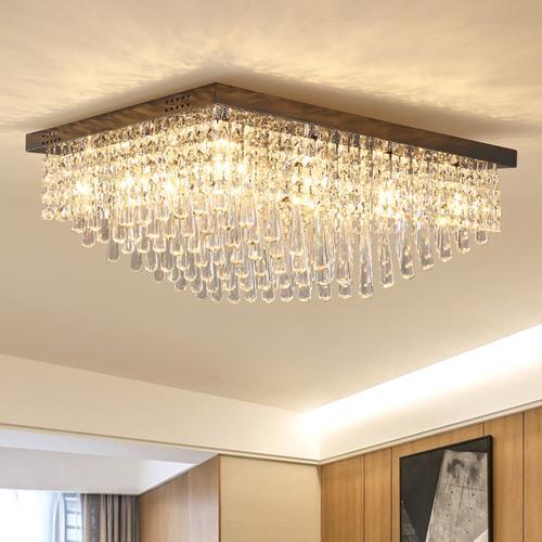 Acquista Dimmable LED Postmoderno Lampadari Di Cristallo Di ...