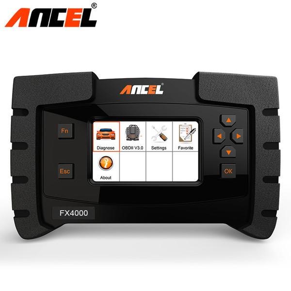 Ancel FX4000 Car Todos Os Sistemas de Scanner Automotivo para o Motor Airbag EM ABS SRS Serviço de Óleo Auto OBD 2 Scanner Ferramentas De Diagnóstico