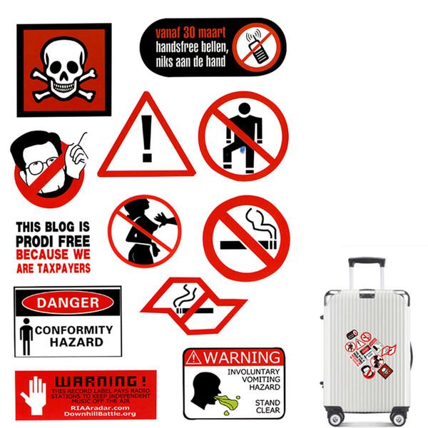 Ochrona i obsługa obiektów DANGER FORK LIFT TRUCKS SIGN A4 WATERPROOF VINYL STICKER Wyposażenie służb publicznych