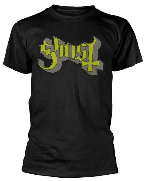 T-shirt 'Ghost B.c' vert / gris Keyline Logo '- Nouveau Tee shirt Officiel O - Neck Fashion Casual