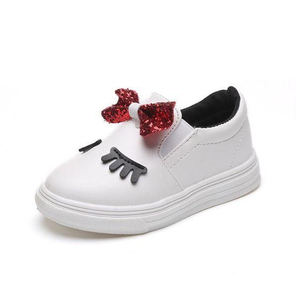 Moda nova 2018 Primavera Outono sapatos criança sapato de bebê Crianças Sapatos Casuais bonito Lantejoulas Menina Sapatos Crianças CalçadoToddler wear crianças tênis