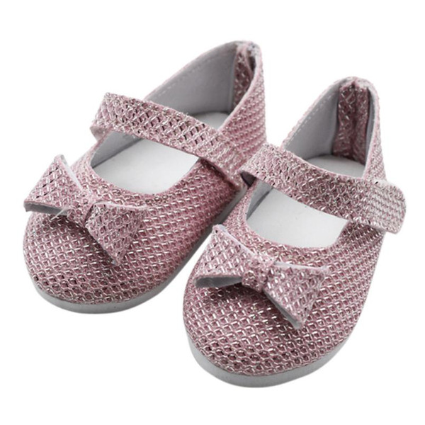 shaunyging # 4025 Glitter Doll Shoes Princess Shoes For 18 Inch Our Generation American Girl Doll