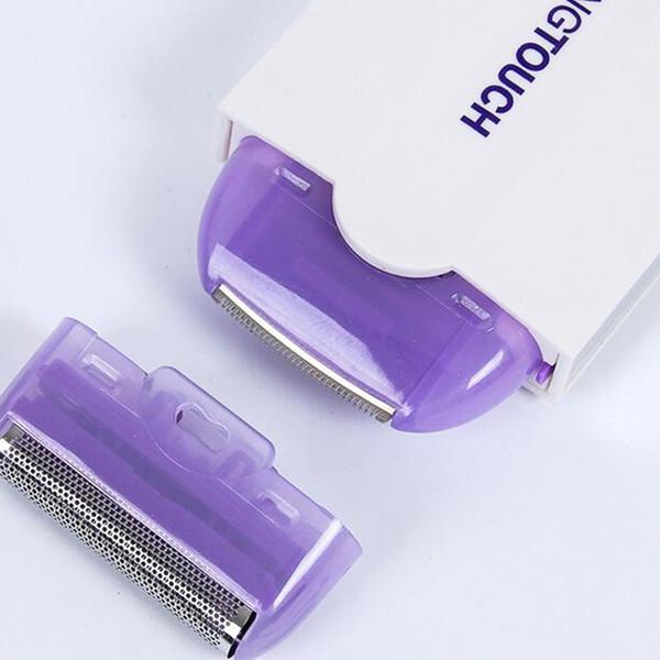 USB Recarregável Depilador de Cabelo Removedor de Pêlos de Remoção de Laser Sensor de Luz Com Segurança Shaver para o Rosto Trimmer Do Corpo Do Cabelo