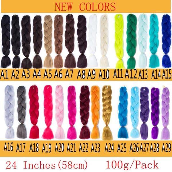 A1-A29 message de sélection de couleur nous
