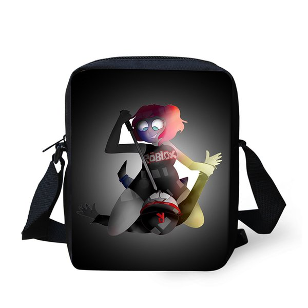 3a6a5c3907d Roblox figure Messenger Crossbody Bag Children Girl Boys Handbags TV Show  Shoulder Bags Custom Made School bag for girls satchel
