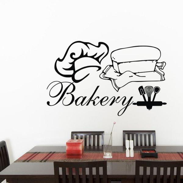 Acquista Adesivi Murali In Vinile Adesivi Murali In Cucina Cucina Di Casa  Home Decor Glass Window Posters A $8.6 Dal Moderndecal | DHgate.Com