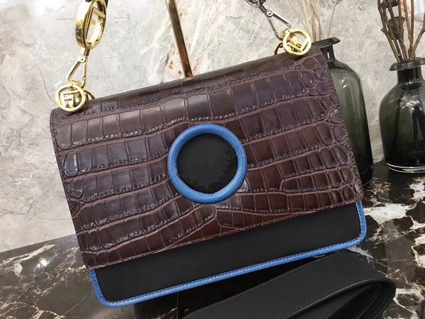 Cross Body genuine Leather Italian brand handbags fashion high quality cowhide bag of female bag, shoulder bag
