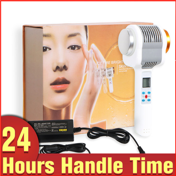 Cold Hot Hammer Ultrasonic Cleaning Ion Export Import Blackhead Wrinkle Acne Remove skin Rejuvenation beauty machine