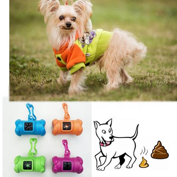 30pcs portable forme d'os pour chien de compagnie pick-up sacs pooper toilette sac en plastique merde cueilleur fournitures pour animaux de compagnie (souhaits sacs en plastique)