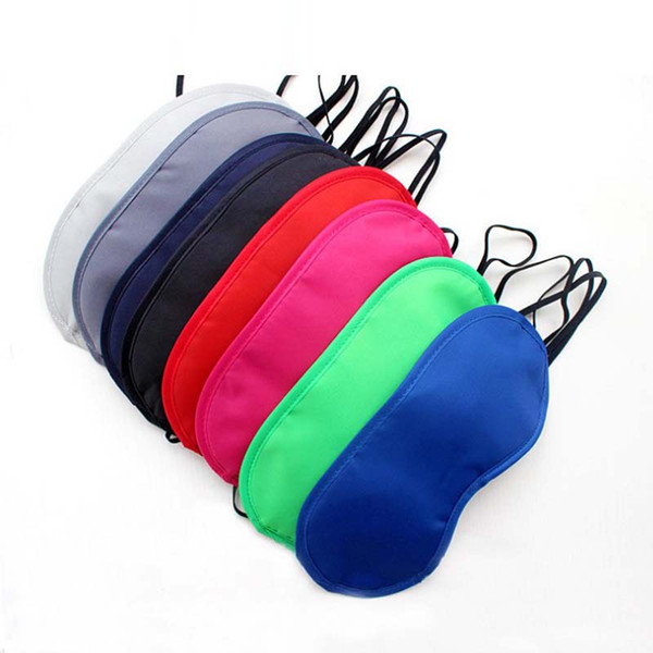 best selling 23 Colors Sleep Rest Sleeping Aid Eye Mask 2000Pcs Eye Shade Cover Comfort Health Blindfold Shield Travel Eye Care Beauty Tool