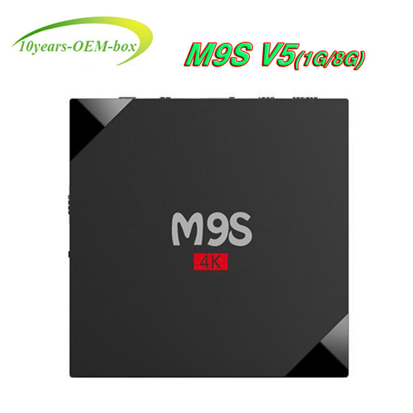 Best OEM HOT M9S V5 4K Android TV Box 4K WIFI 2.4G HDMI Media Player RK3229 Quad-Core 1GB 8GB Smart TV Boxes