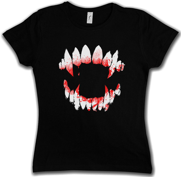 VAMPIRE DENTITION True Zähne Biss Bite Teeth Jaws Blood Dracula Movie Tooth