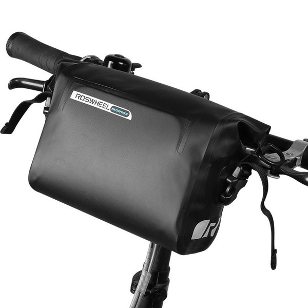 3L PVC MTB Pannier Frame Bicycle Bag Water Proof Bike Handlebar Front Basket Tube Pouch Cycling Holdings Accessories