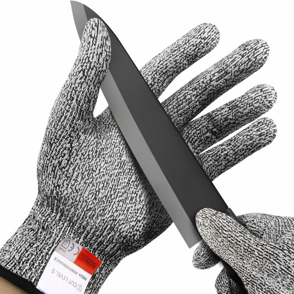 Cut-resistant Anti-Knife Gloves ChainSaw Safety Gloves Level 5 Protection Kitchen Hunting Survival Gear Outdoor Camping Tool NY009