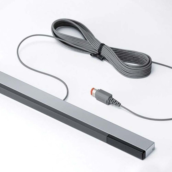 top popular W-I-I Wired Infrared IR Signal Ray Sensor Bar Receiver for Nintendo for Wii U WiiU Remote 2020
