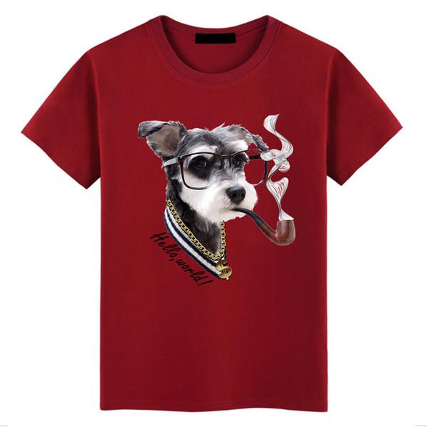 Top quality Fashion Men's Short sleeve T-Shirt O-Neck loose dot print 100% cotton T-shirt casual T-shirt Plus Size S-5XL 6colors K1399