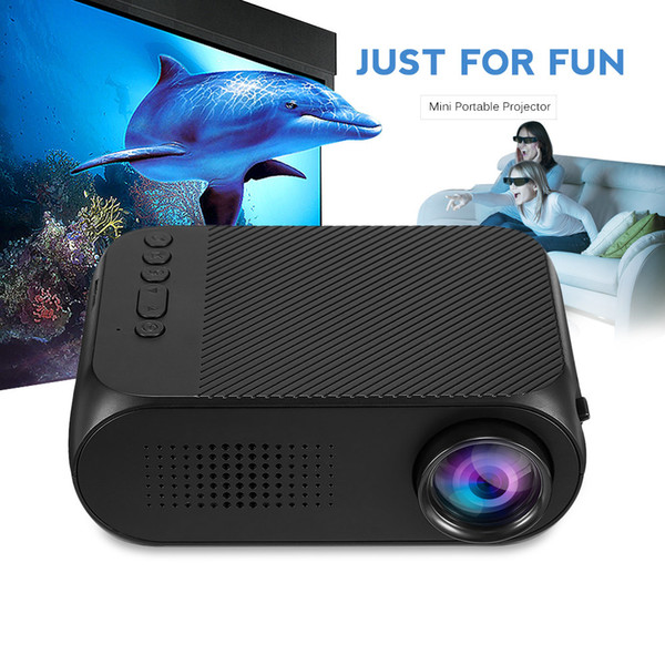 YG320 Mini LED Projector 1080P Video HDMI USB Proyector Built-in Speaker 400 Lumens 320*240 Home Theater Cinema Projector