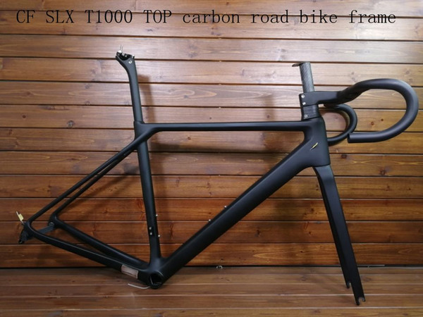 2018 new CF SLX T1000 TOP carbon road bike frame bicycle racing bike frameset + handlebar disc brake carbon fibre can be XDB ship Rated