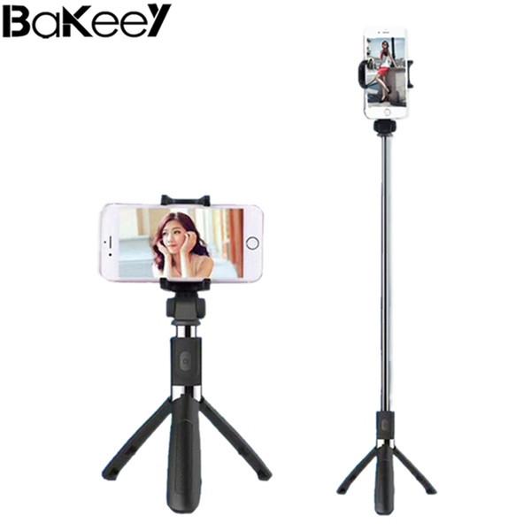 Bakeey L01 360 Grad drehbare ausziehbare Stativ Selfie Stick mit Bluetooth Fernbedienung bunte Aluminium Kunststoff-Legierung