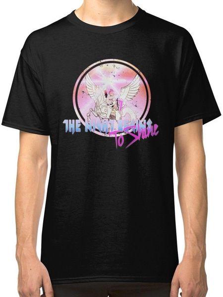 Cyborg -Night Begins to Shine Men's Black Tees Shirt Clothing Size S M L XL 2XL 3XL