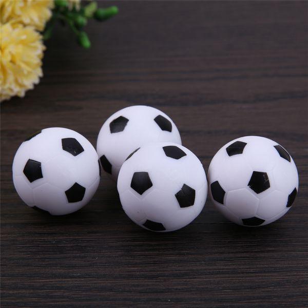top popular 4pcs set 32mm Plastic Soccer Table Foosball Ball Football Fussball 2021