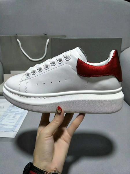 Обувь дизайн красный Нижний кроссовки роскошную вечеринку свадебные туфли из натуральной кожи шипами кружева-до Повседневная обувь xrx1904030104