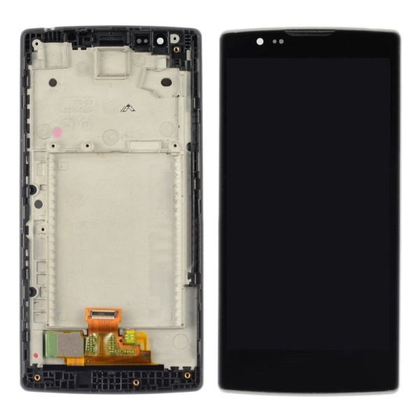 Original Full Screen For LG Spirit H442 H440 H440n Touch Screen Digitizer LCD Display With Frame Assembly 4.7inch Black Repair Parts