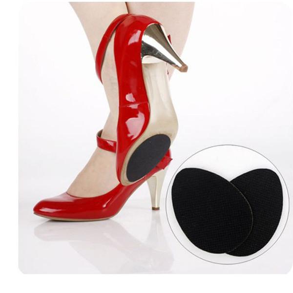 Yeni Kendinden Yapışkanlı Sert Giyen Kauçuk Siyah Renk Kayma Önleyici Herhangi Bir Boyut Ayakkabı Uyar Bayanlar Ayakkabı Yüksek Topuklu Çizmeler Sandalet Gents