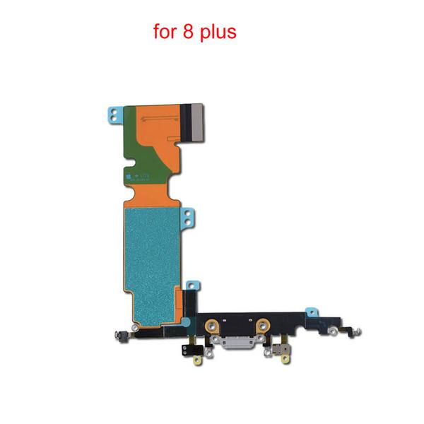 USB-разъем зарядного устройства док-станции шлейф Замена для iphone 8 8 плюс зарядки шл