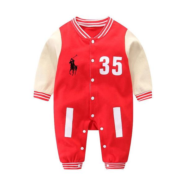 Hohe qualität herbst 2017 baby stück jungen mädchen strampler overall babyspielanzug langarm mädchen boutique kleidung onesies kleidung coco