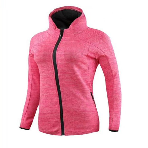 2019 Womens Ladies Gym Fitness Running Jogging Yoga Hoodie Zip Up Jackets Sports Coat M XXL 4 Size DHL Free From Pandas2018, $39.91 | DHgate.Com