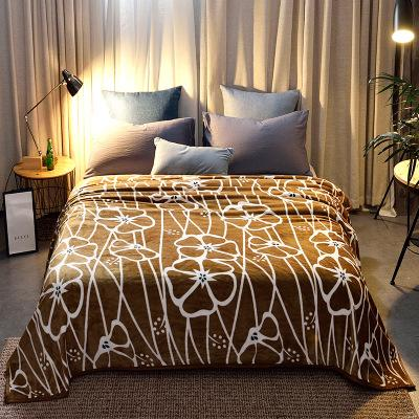 hot sale Warm Plaids Thicken Fleece winter Throw Blanket for Adults Blanket on bed Cobertor Super Soft Plaid Manta Bedspread