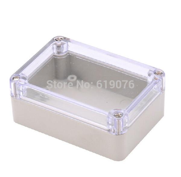 5Pcs 3.26'' x 2.28'' x 1.29'' (L W h) ABS Waterproof Electronic Plastic Project Box Enclosure Case