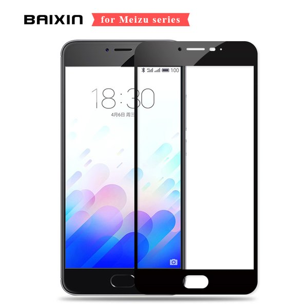 For MEIZU M3 Note Tempered Glass Full Cover Film For Meizu M3s M3 Screen Protector Meilan Note3 32GB Phone Glass M3S