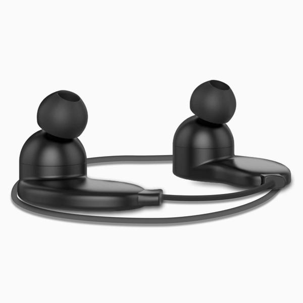 Laufende Bluetooth Kopfhörer Ohr wasserdichte drahtlose Sport-Ohrhörer Kopfhörer mit Mic Ohrhaken verdrahtete Stereo Workout Ohrstöpsel für Jogging-Gym