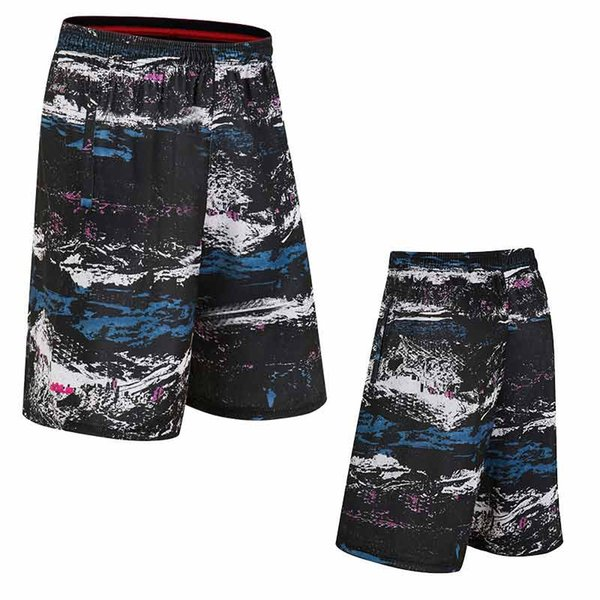 summer men's basketball shorts breathable thin section quick-drying running fitness loose large short fireplace basket jersey
