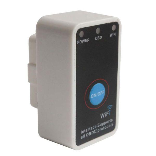 Fcarobd ELM 327 WIFI OBDII Schalter ELM327 Wifi OBD2 Auto-Diagnosescanner für intelligentes ELM-327 Wi-Fi Selbstdiagnosewerkzeug des Telefons