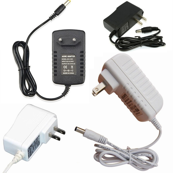 AC 100-240V to DC 12V 1A 2A US EU Plug adapter charger Power Supply Adapter for Led Strips Lights