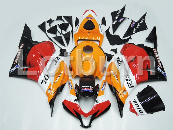 High Quality ABS Plastic Fit For Honda CBR600RR CBR600 CBR 600 2009-2012 09 10 11 12 F5 Moto Custom Made Motorcycle Fairing Kit A257