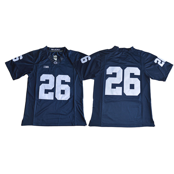 best website 8b158 984ec 2018 Mens Penn State Nittany Lions Saquon Barkley Stitched Name&Number  American College Football Jersey Size S 3xl From Azal001, $21.82 |  Dhgate.Com