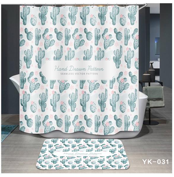 Acquista Stampa 5 Disegni Impermeabile Flamingo Plant Cartoon Accessori Il  Bagno Tenda Soggiorno Camera Da Letto Finestre Home Decor Di Lusso A $20.28  ...
