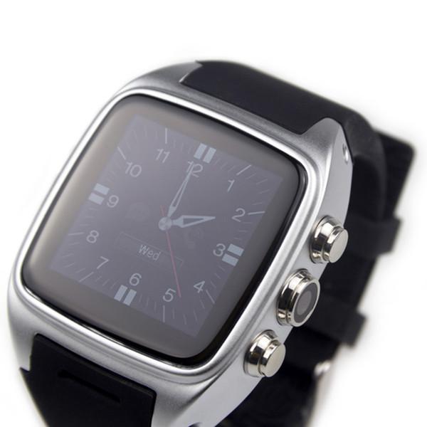 X01 Akıllı İzle Android 4.4 Waterpoor IP67 3G SIM TF Kart WiFi GPS Android Telefonlar için 3MP Kamera Spor Smartwatch Iyi