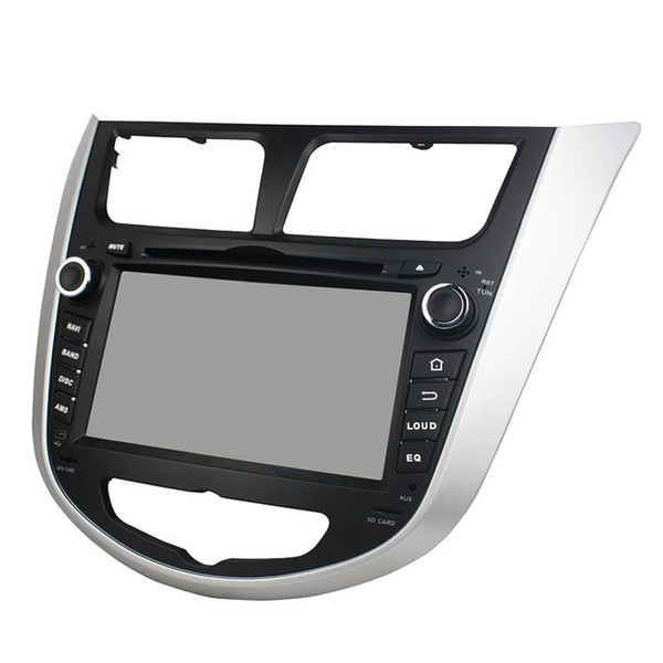 Car DVD player for HYUNDAI Verna Accent 2011-2012 8-Core 4GB RAM 7inch Andriod 8.0 with GPS,Steering Wheel Control,Bluetooth,Radio