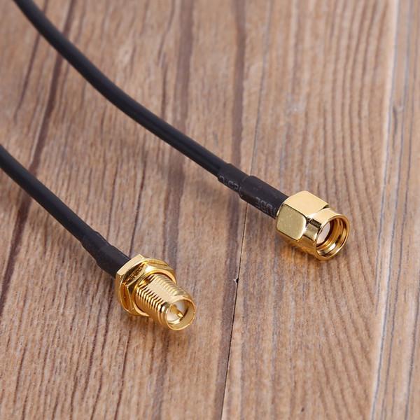 3M RP SMA mâle au câble de rallonge d'antenne de routeur WiFi femelle
