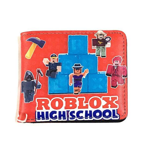 New Game Roblox Wallet Cute Purse Holder Clutch Otaku Layers Bag