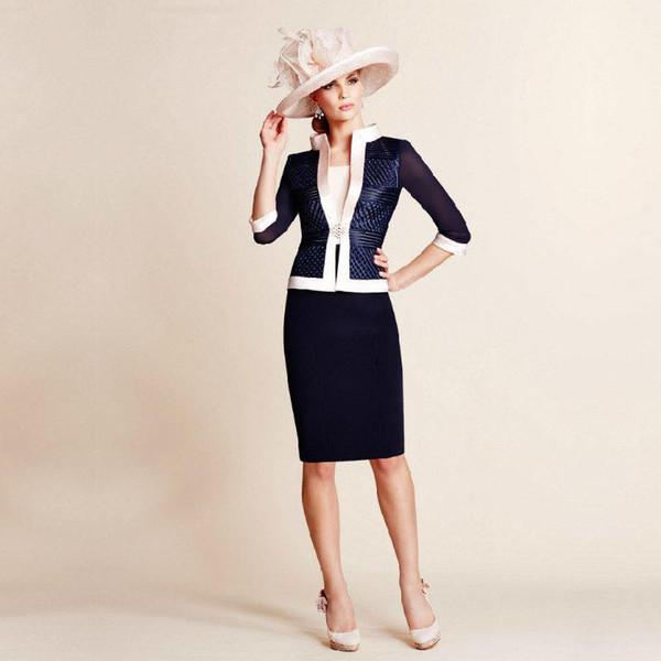 custom made! New delicate chiffon fabric ladies slim skirt company annual meeting banquet party elegant dress